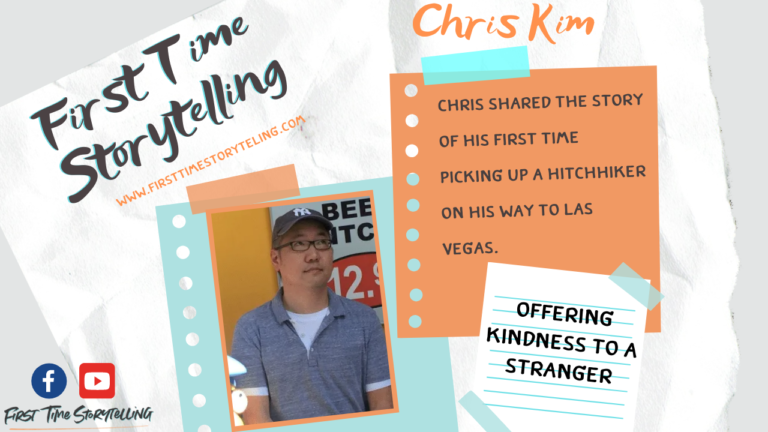 Chris Kim on the First Time Storytelling Broadcast