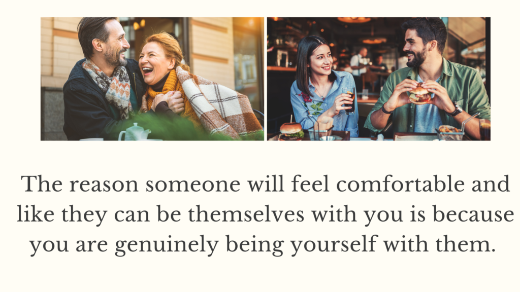 Learn to be yourself with first time storytelling for greater dating success.